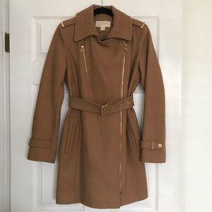 Like New- Authentic MK Wool Blend Peacoat